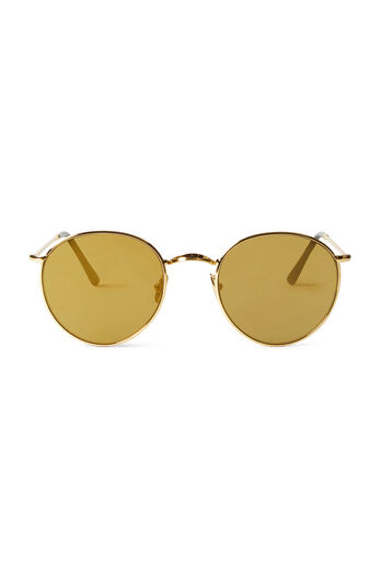 Spektre P2 Flat Sunglasses - Gold Bronze