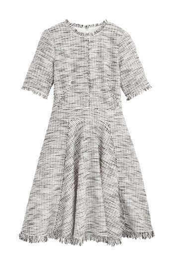 Bouclé Tweed Dress