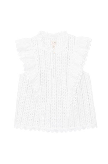 La Vie Celsie Eyelet Top