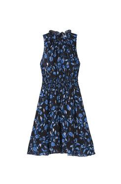 Sleeveless Kyoto Floral Smock Dress