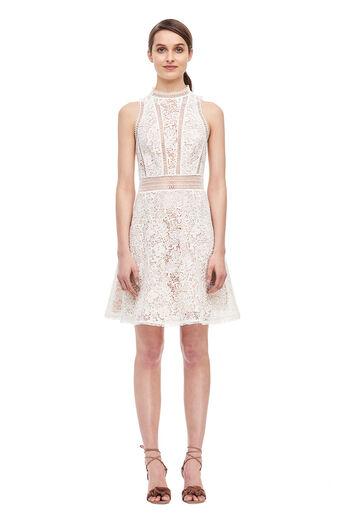 Arella Lace Dress - Snow