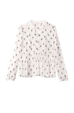 Long Sleeve Tulip Clip Top