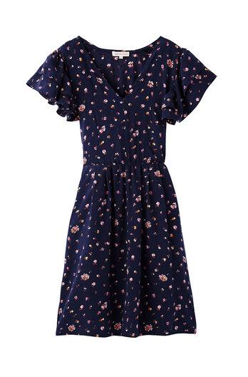 Mia Floral V-Neck Dress