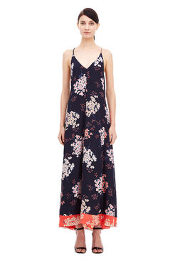 Phlox Maxi Dress - Dark Navy