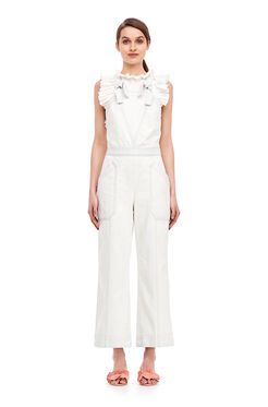 Denim Jumpsuit - Snow Wash