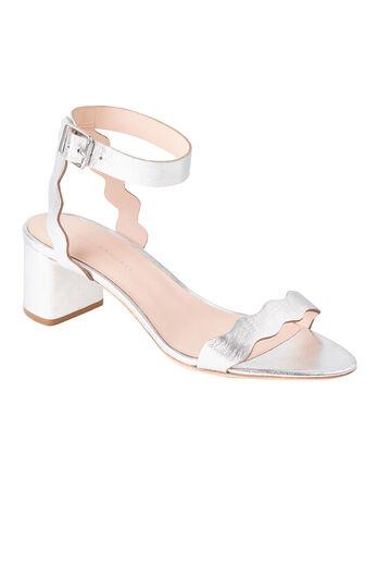 Loeffler Randall Emi Sandal - Silver