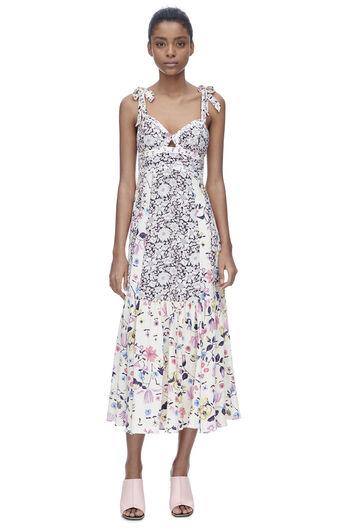 Sleeveless Tapestry Garden Cami Dress