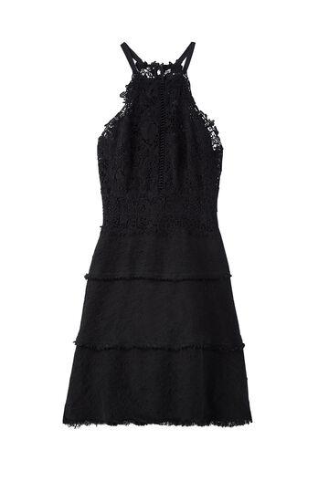 Tweed & Lace Dress