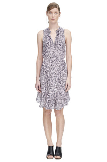 Sleeveless Tangier Paisley Dress