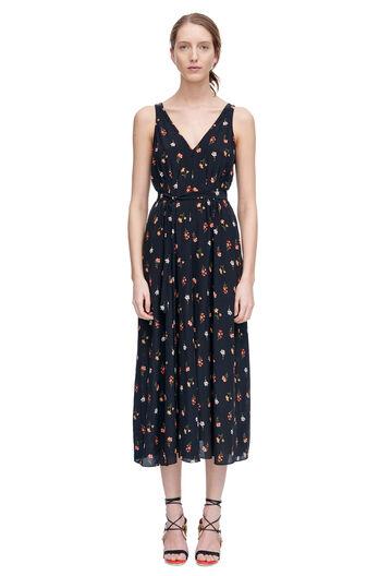 Mini Meadow Floral Midi Dress