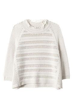 Ottoman Stripe Pullover