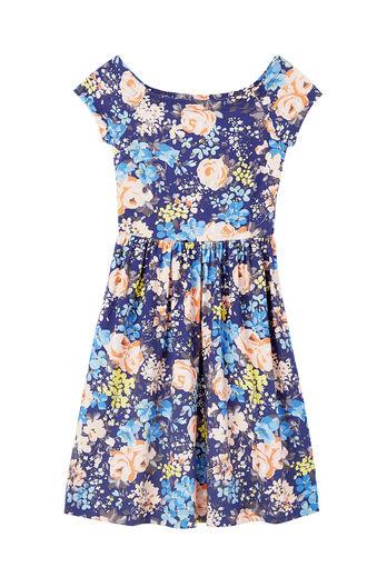 Gigi Fleur Jersey Dress