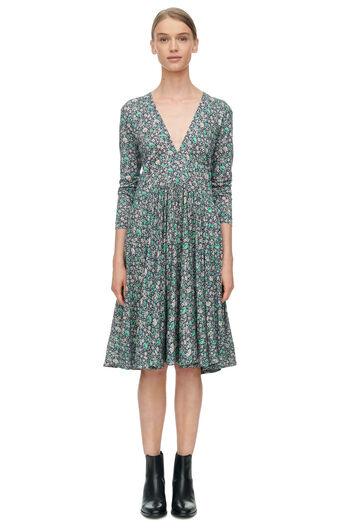 Long Sleeve Lavish Garden Dress