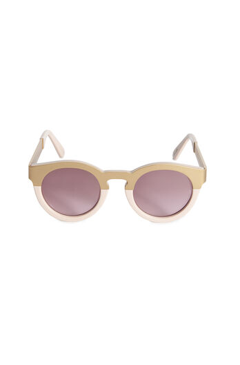 Sunday Somewhere Soelea Metal Round Sunglasses