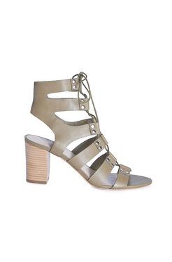 Loefller Randall Hana Gladiator Lace Up Sandal - Olive
