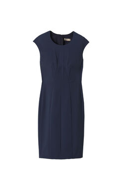 Sleeveless Suit Sheath Dress