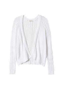 Textured Knit Cardi
