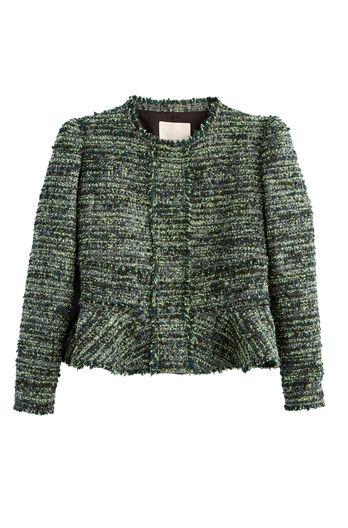 Textured Tweed Jacket