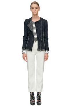 Structured Tweed Blazer