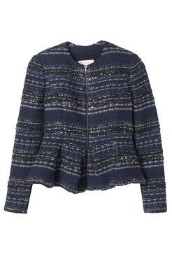 Lurex Tweed Jacket