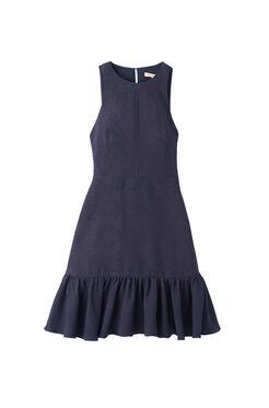 Textured Ruffled Dress