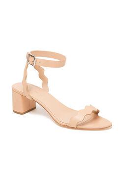 Loeffler Randall Emi Block Heel Sandal - Wheat