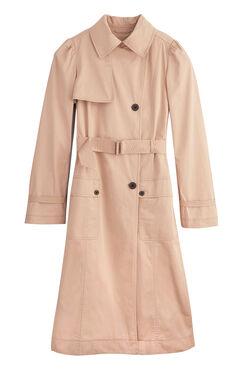La Vie Twill Trench Coat