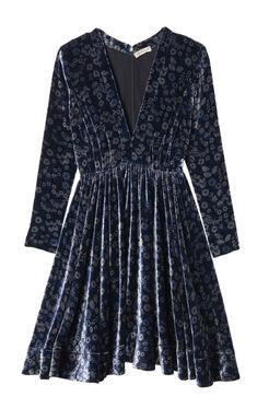 Velvet Liane Floral Dress
