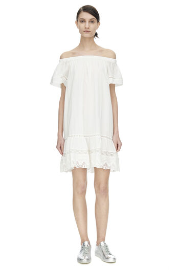 Off The Shoulder Cotton Dress