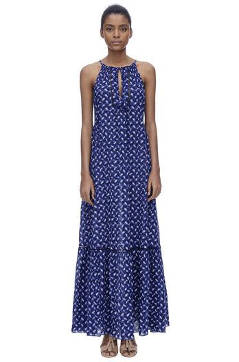 Sleeveless Criss Cross Maxi Dress