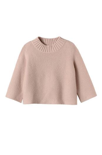 La Vie Mockneck Swing Sweater