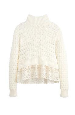 Popcorn Stitch Pullover