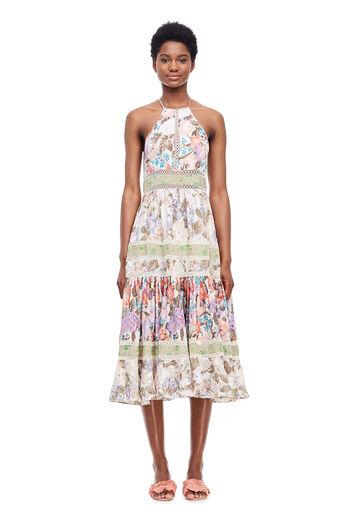 Mixed Print Dress - Print Mix Combo