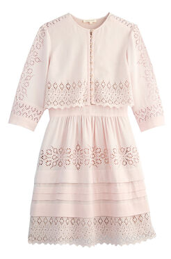 Adeline Embroidered Dress