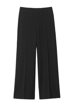 Moss Crepe Cropped Pant