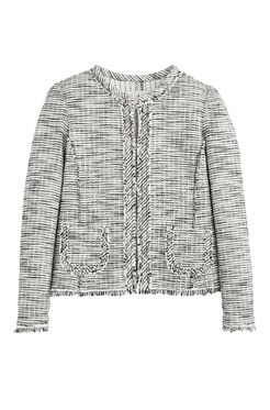 Bouclé Tweed Jacket