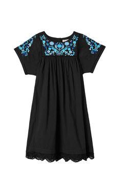 Folk Garden Embroidery Dress