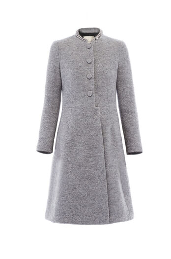 Wool Chain Coat