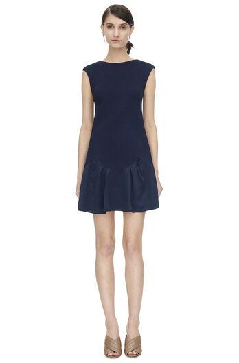Sleeveless Knit Pique Dress
