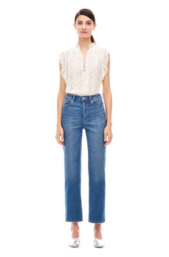 La Vie Beatrice Denim Jean - Saltwater Wash