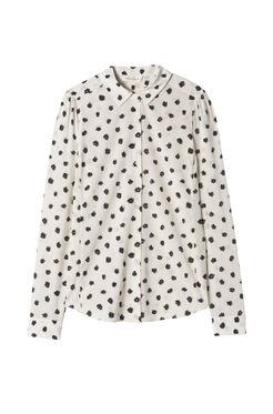 Long Sleeve Dandelion Print Top