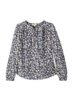 Silk Liane Floral Top
