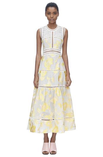 Sleeveless Ella Fil Coupe Dress