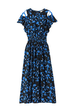 Open Shoulder Kyoto Floral Dress