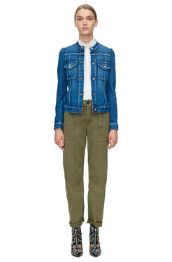 La Vie Stretch Denim Jacket - Saltwater Wash