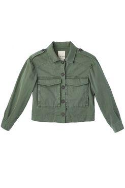 La Vie Luxe Twill Jacket