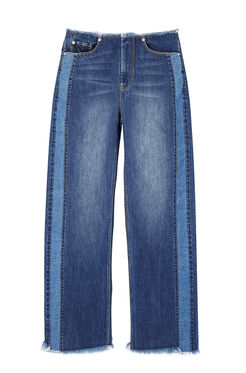 La Vie Raw Edge Denim Jean