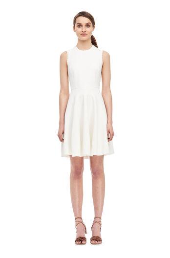 Stretch Textured Dress - Milk