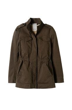 La Vie Stretch Twill Coat
