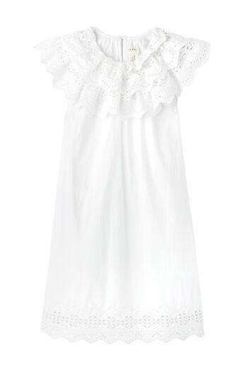 La Vie Eyelet Poplin Dress